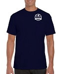 Auction Pocket / Short Sleeve T-Shirt (Navy)