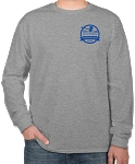 Auction Long Sleeve T-Shirt (Sport Gray)