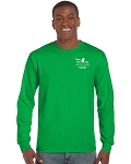 Auction Long Sleeve T-Shirt (Kelly Green)