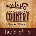 WTVP Has Gone Country Event - Table of 10