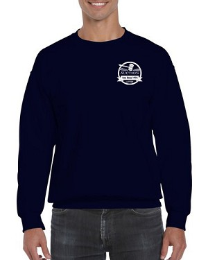 Auction Long Sleeve T-Shirt (Navy)