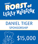 Daniel Tiger Sponsorship  - Mayor's Roast