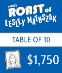 Table of 10 - Mayor's Roast