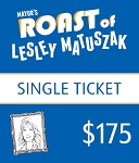 Individual Ticket - Mayor's Roast