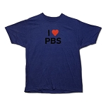 I Heart PBS T-Shirt